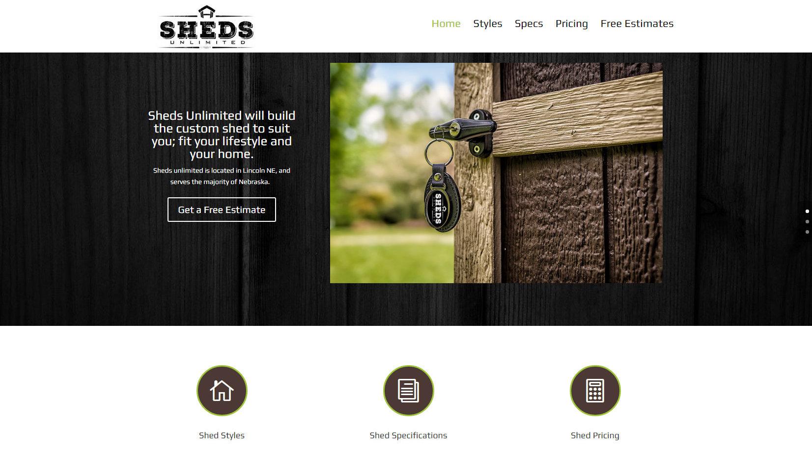 Construction Affordable Website Design