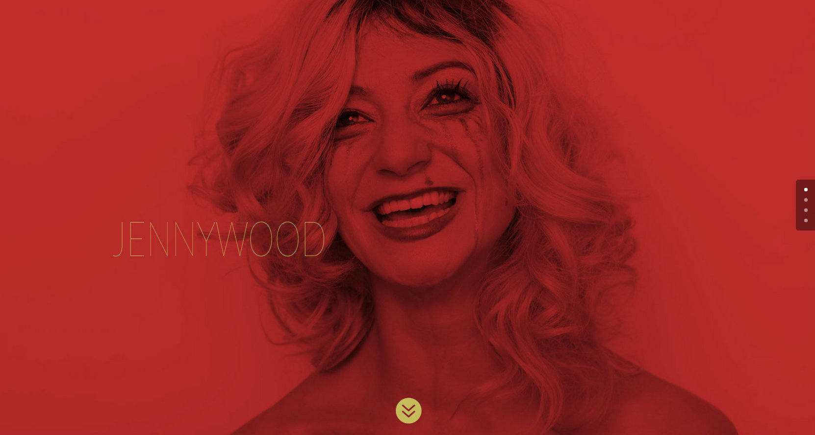 Wichita Musician Jenny Wood Website Design