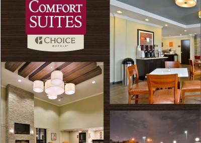 Comfort Suites Rack Card