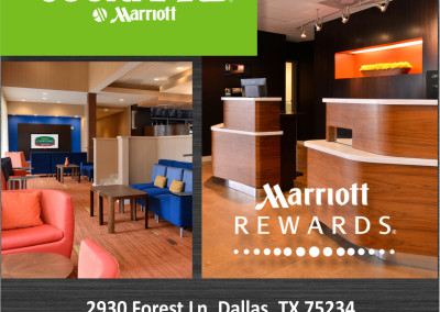 Marriott Hotel Rack Card